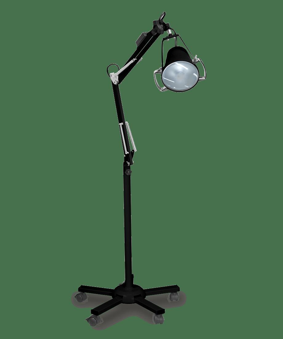 Foco de Luz Fria Conc. a LED com Tripé Autovolt - Preto