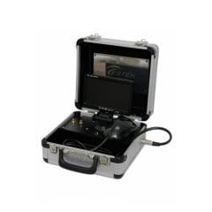 Video Micros. 250x c/ Monitor Maleta de Alumínio Portátil